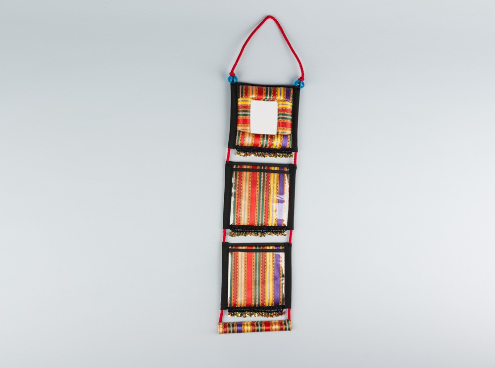 Sayeh Wall Hanger with Mirror