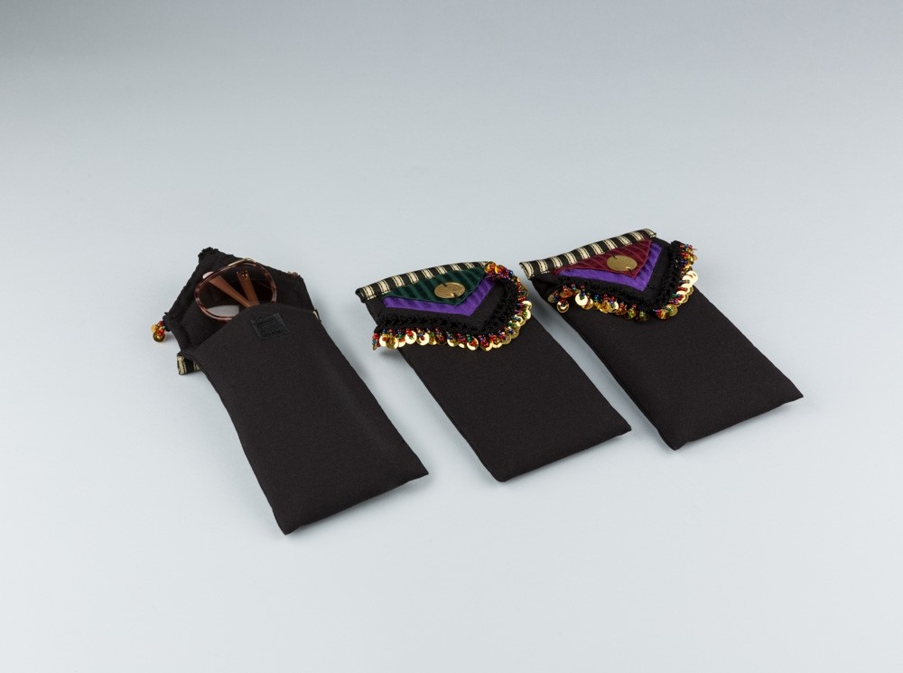 Sayeh Eyeglasses Case with Colored Beads