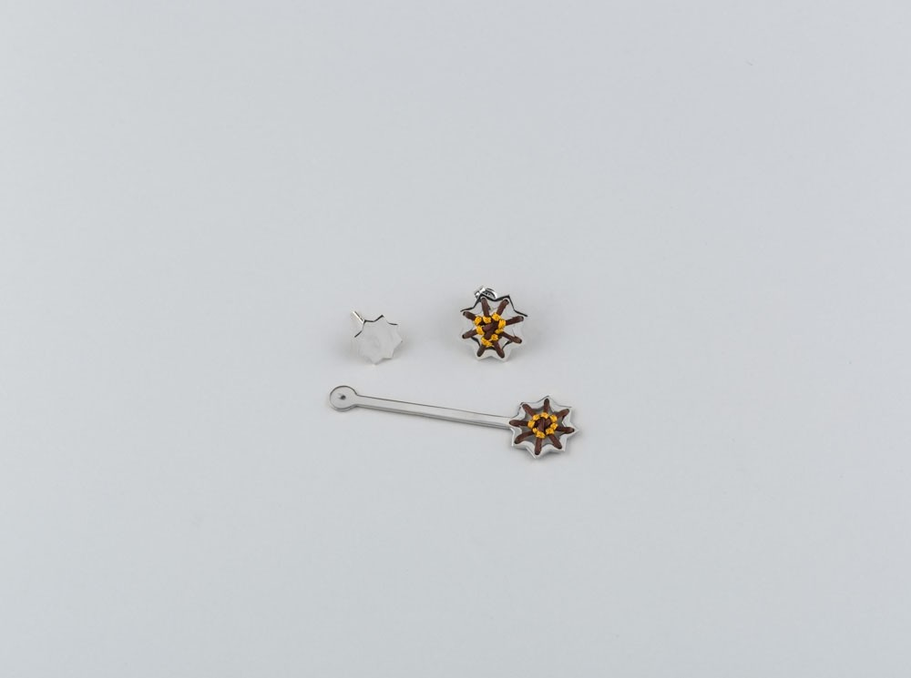 Machrabya 3-Piece Stud Earrings