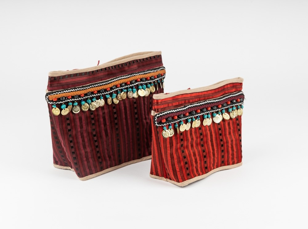 Pouch with Pocket in Sayeh and Sequins