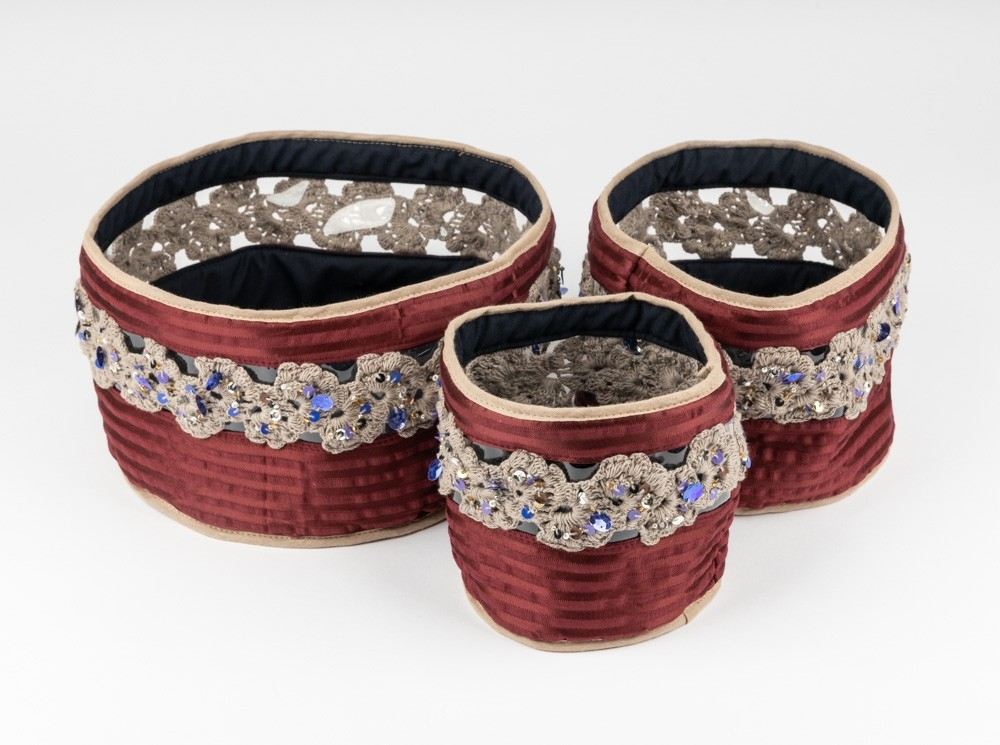 Sayeh Container with Crochet
