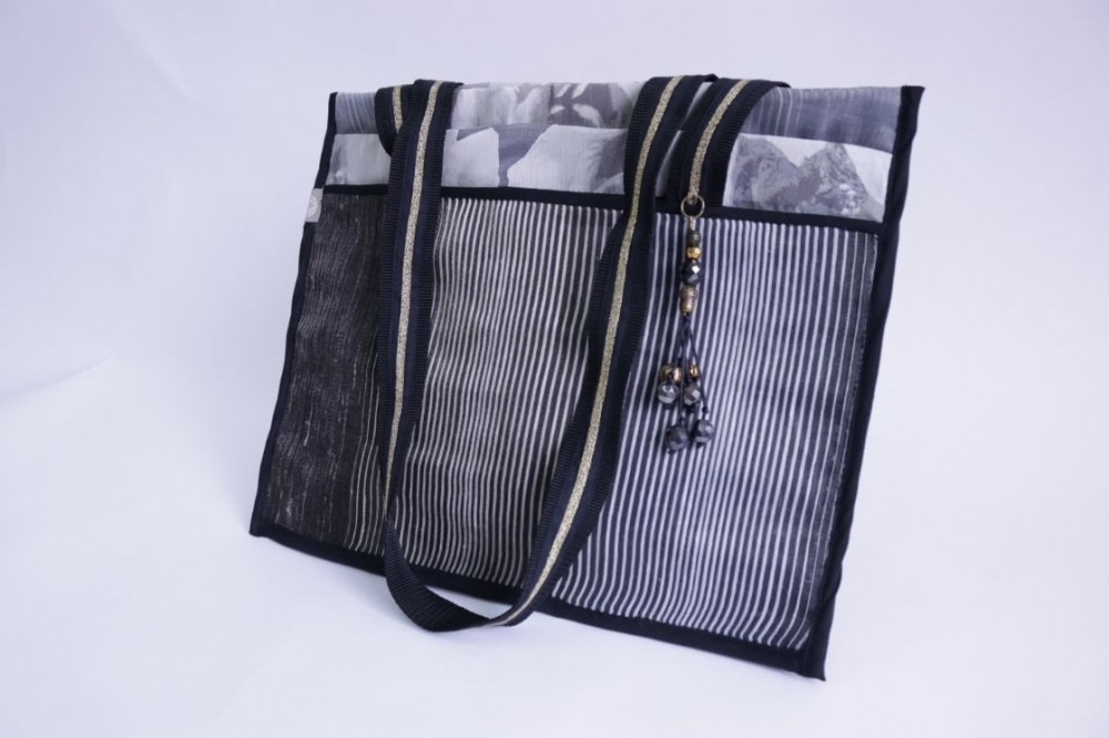 Flat Sheer Bag with Pouches