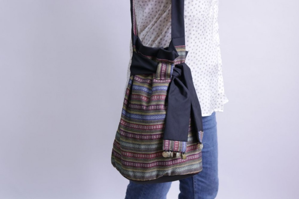 Sayeh bag with Belt and Sequins