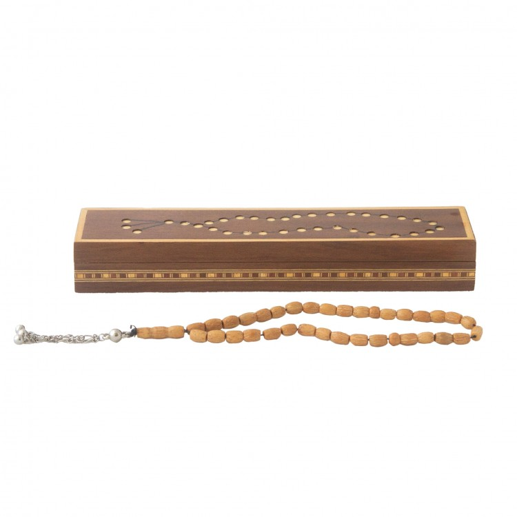 Olive Seed Rosary with Box