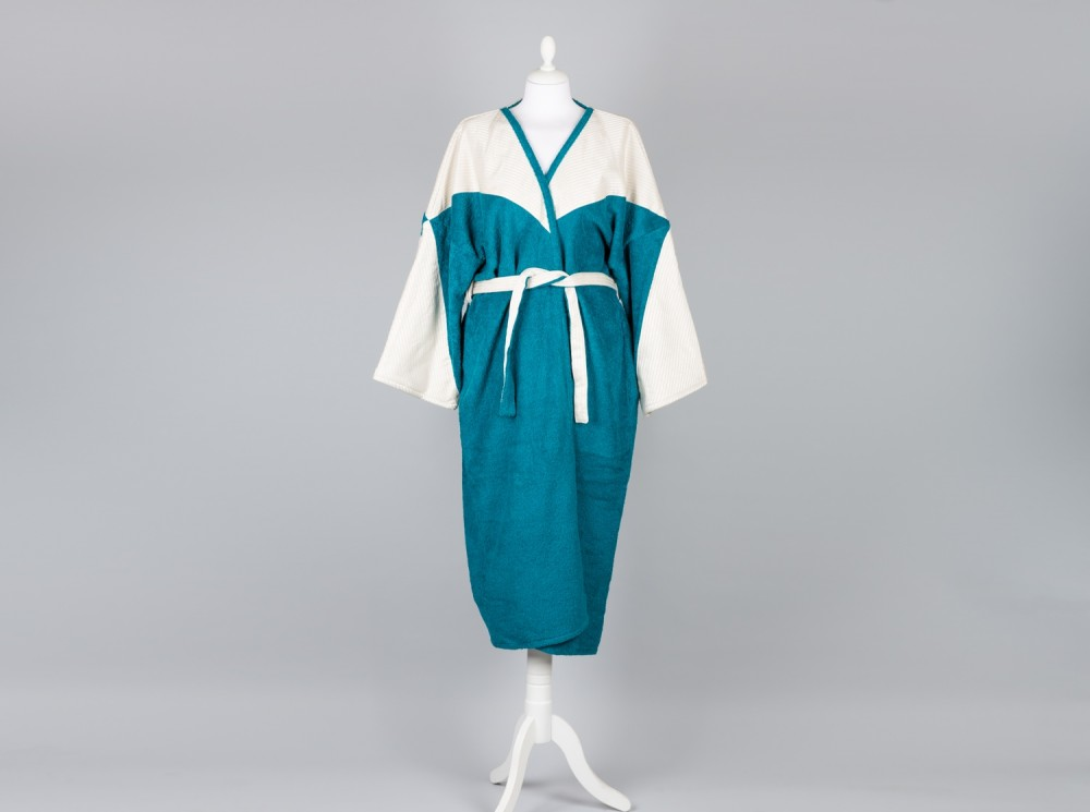 Bathrobe Sayeh Plastron