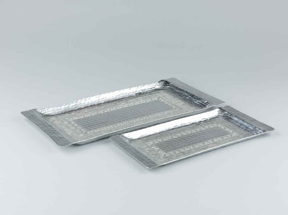 Rectangular Aluminum Tray