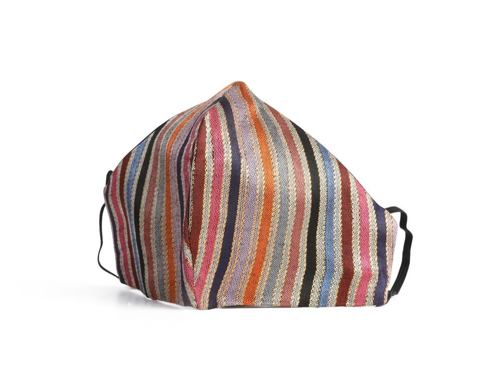 Face Mask in Striped Sayeh