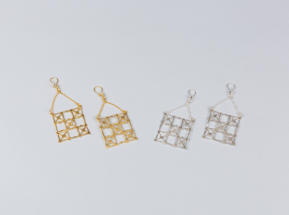 Ghajari Earrings