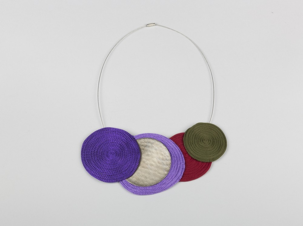 Lina Necklace with Brass Detail