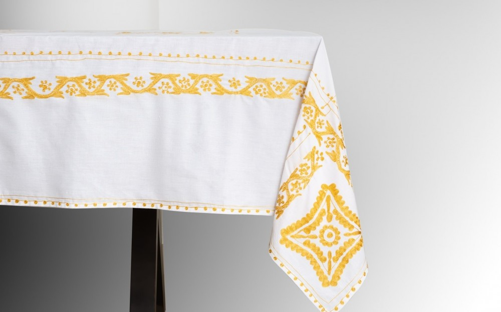Aghabene Moon Tablecloth