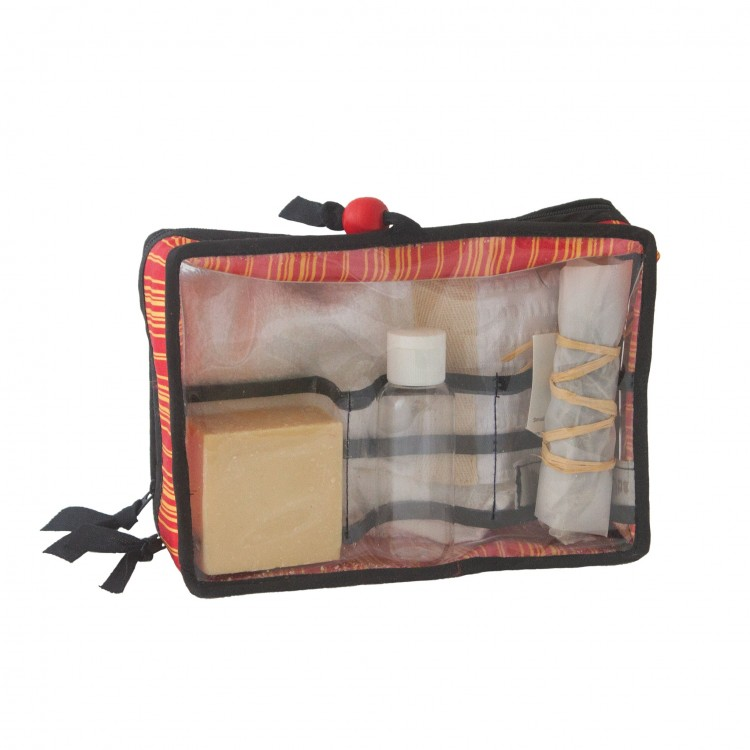 Nylon Pouch for Sanitizer Soap and Towel