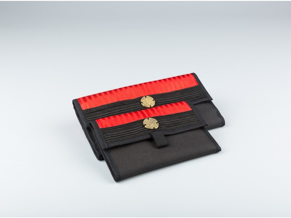 Sayeh Wallet with Brass Detail