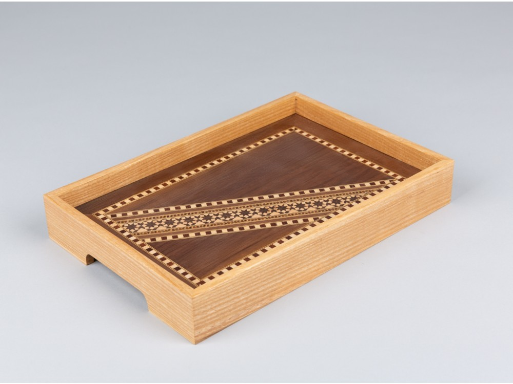 Light Marquetry Tray